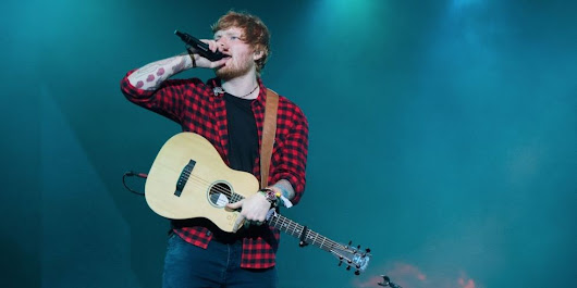 Music Mondays – Ed Sheeran sued for allegedly copying Marvin Gaye hit 'Let's Get It On' for song 'Thinking Out Loud'