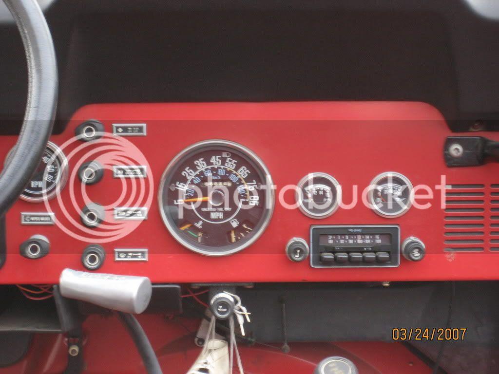 jeep cj tachometer wiring image 7