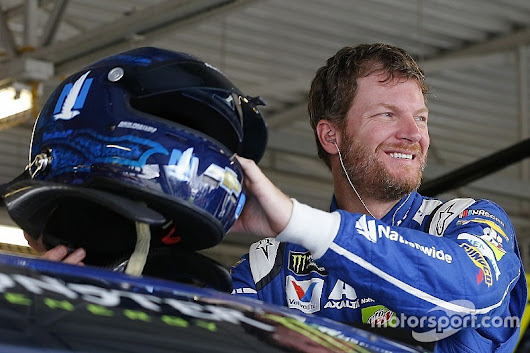 Dale Earnhardt Jr. scores front row start for racing return - NASCAR XFINITY News