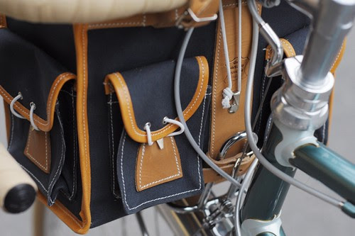 Berthoud Handlebar Bag, Pockets and Rack Attachment