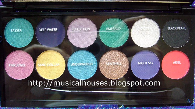 sleek aqua collection palette shade names