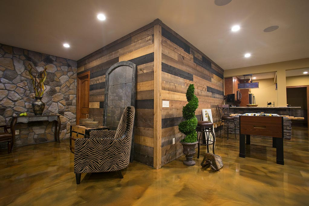Accent Wall In A Box   Modern Rustic, Barn Wood Inspired