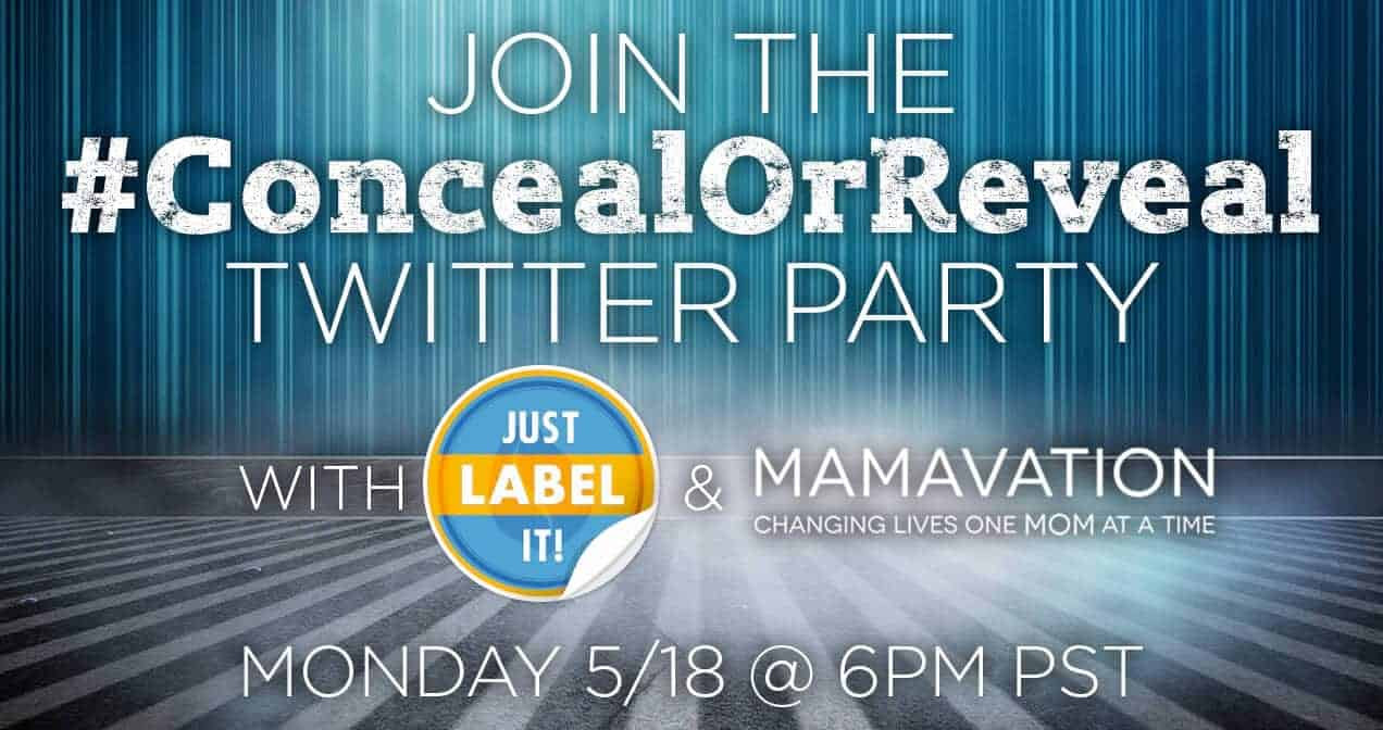 #ConcealorReveal Quaker Just Label It Twitter Party