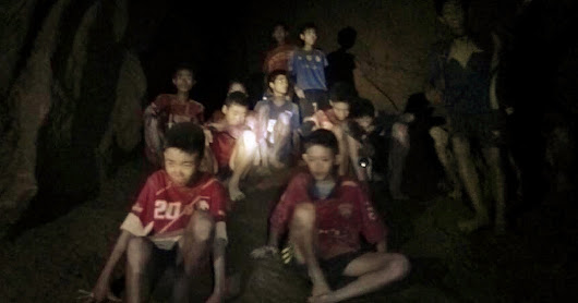 In Thailand Cave Rescue, Soccer Team Is Found Alive