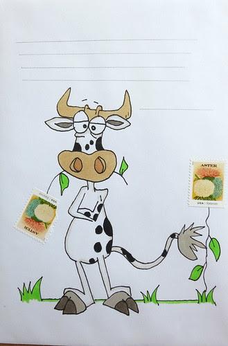 A Wisconsin steer