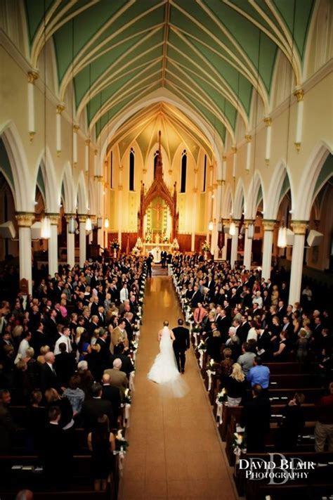 Wedding Ceremony at St. Louis Bertrand Catholic Church in
