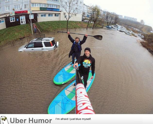 Enjoying A Rainy Day In Russia Funny Pictures Quotes Pics