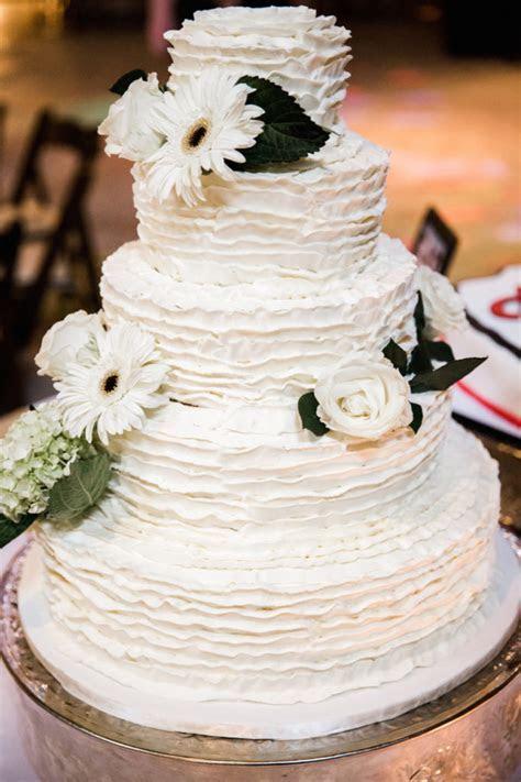 Nashville Sweets   Buttercream Ruffles Wedding Cake