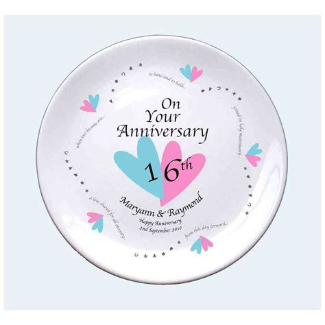 16th Wedding Anniversary Traditional Gift   Wedding and