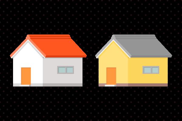 シンプルな家のイラスト 街建物系イラスト専門サイトtown Illust