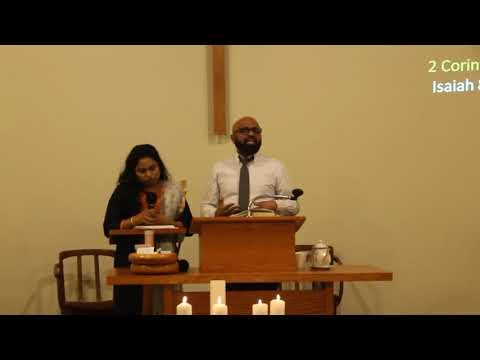 22 December 2019 Sunday Service Message Pas. Kapilan Savarimuthu