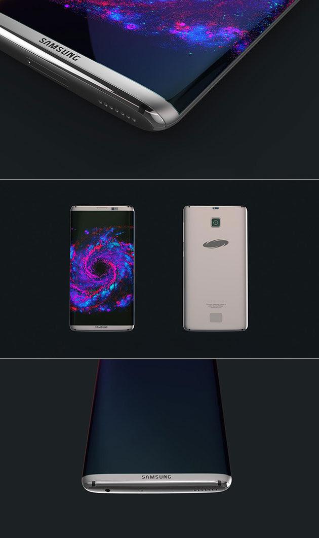 توقعات هاتف جالكسي S8 يأتي بكاميرا مزدوجة وشاشة QHD