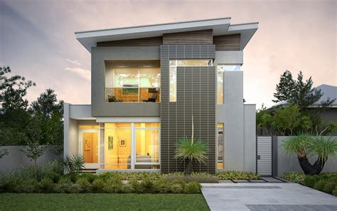 narrow lot homes house design house plans