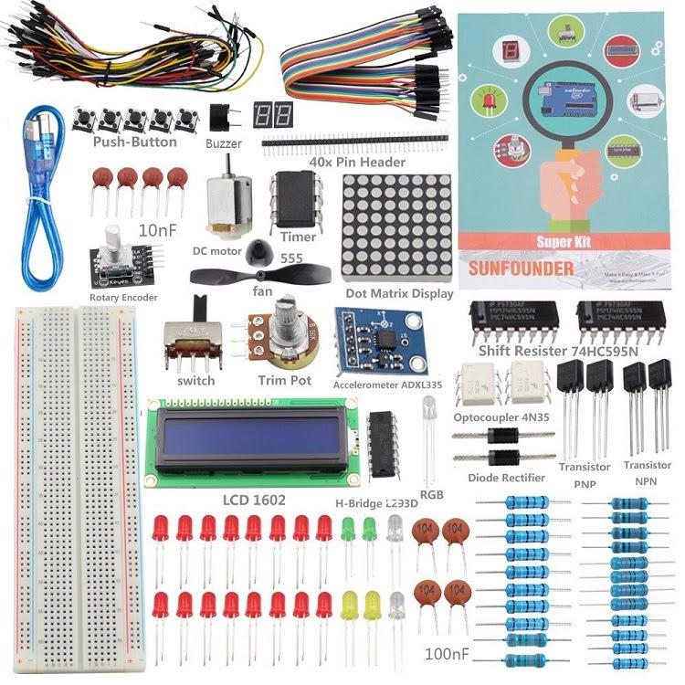 SunFounder Arduino Starter Kit