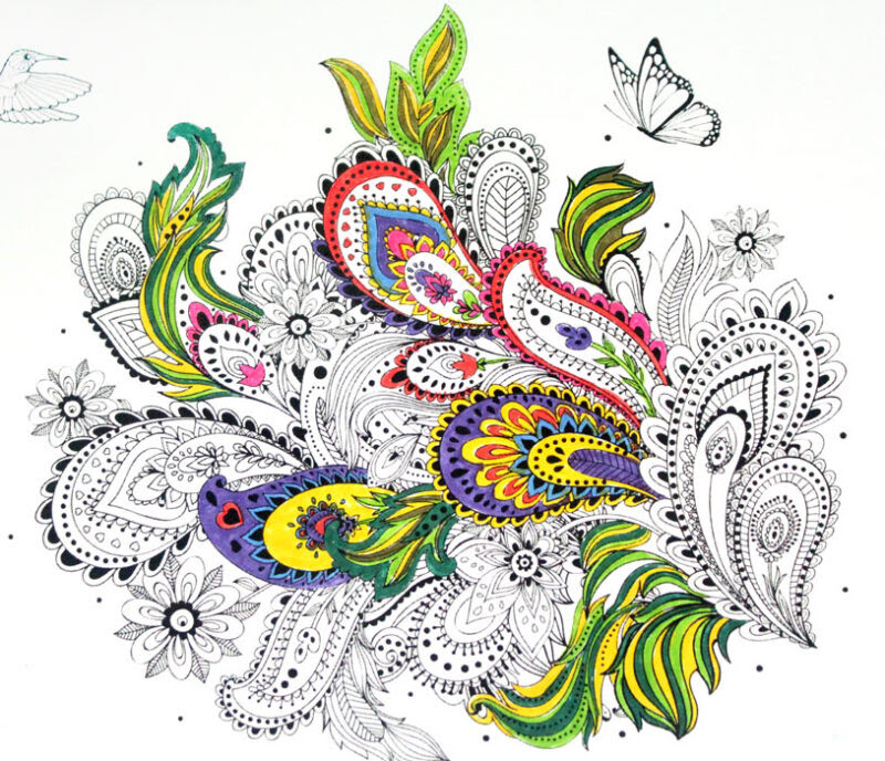 Free Printable Coloring Pages for Adults - Moms and Crafters