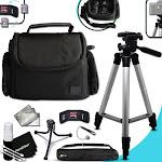 "Premium Well Padded Camera CASE / BAG and Full Size 60"" inch TRIPOD Accessori..."