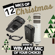 RØDE's 12 Mics of Christmas Giveaway!