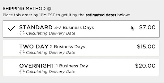 Use 'Delivery Date' Not 'Shipping Speed' – From UX Research to Implementation Roadmap