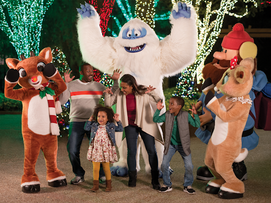 SeaWorld San Antonio presnets Christmas Celebration