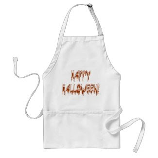 Halloween Suffering Text Apron