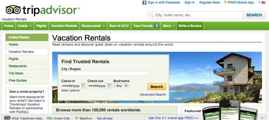 Top 24 Vacation Rentals Booking Websites - BlogHug.com