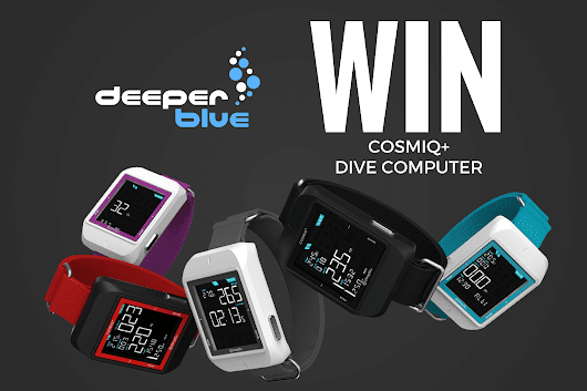 WIN a Cosmiq+ Smart Dive Computer – DeeperBlue.com