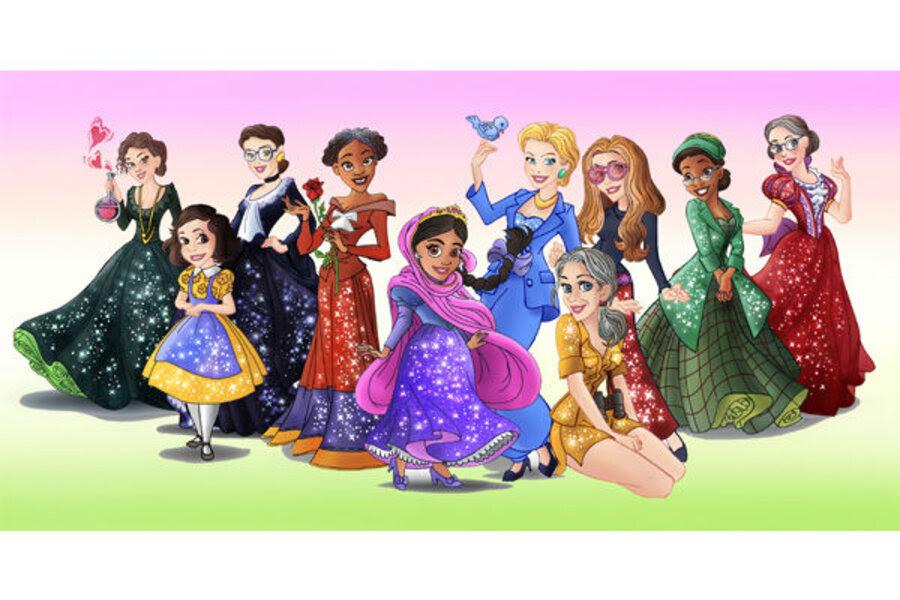 Disney Princess versions of real heroines expose culture ...