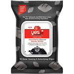 Yes To Tomatoes Facial Wipes, Detoxifying Charcoal - 30 wipes