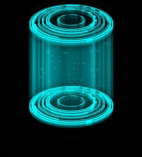 Free illustration: Cage Holography, Cylinder   Free Image