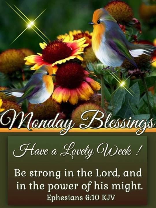 Blessed Monday Morning Quotes