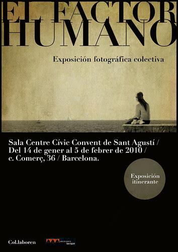 EL FACTOR HUMANO - EXPOSICIÓN COLECTIVA
