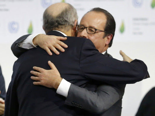 The moment of Paris COP21 that was so moving even the translator started crying