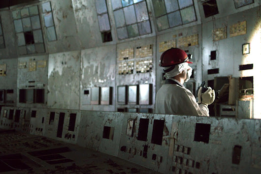 Inside the Chernobyl Unit 4 control room | Enformable