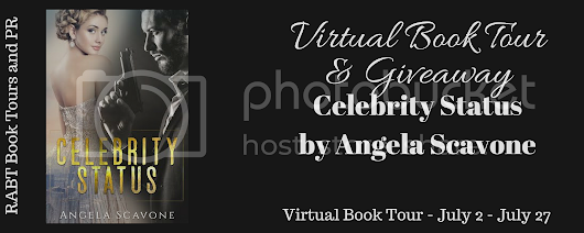 Book Tour: Celebrity Status by Angela Scavone @busterwhyte with my #review and a #giveaway
