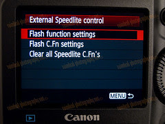 1D MarkIV External Speedlight Control Menu