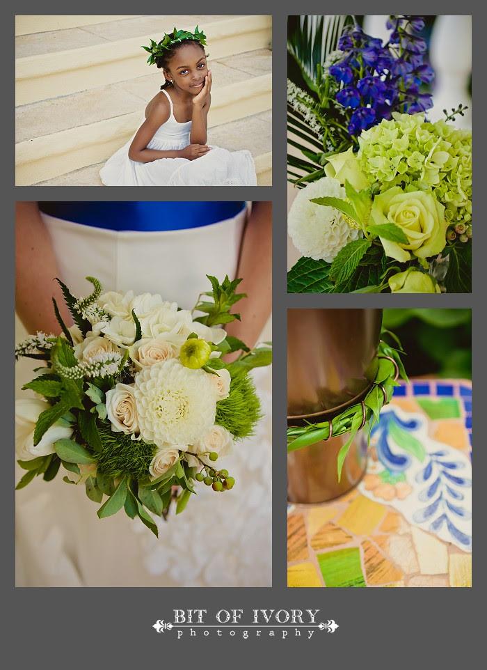 mediterranean inspired wedding