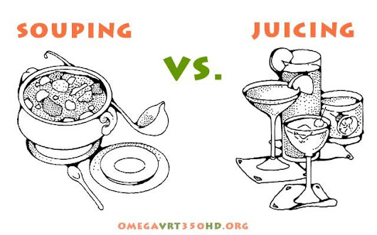Souping Vs Juicing - Which One is The Best Cleanse?