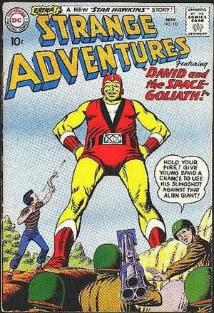 Cover for Strange Adventures #122 (1960)