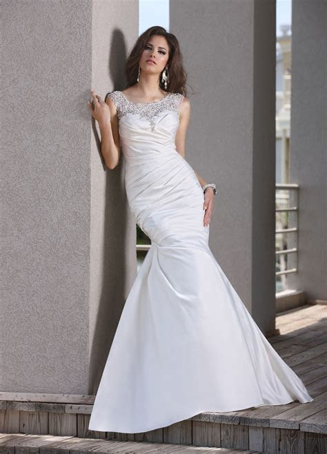 Mermaid Wedding Dresses ? An Elegant Choice For Brides