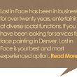 Denver Face Painter & Artist | Painting | Lost in Face
