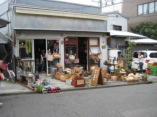 Basket shop, Yanaka Ginza