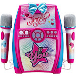 eKids - Jojo Siwa Sing-Along Boombox Karaoke System - Pink