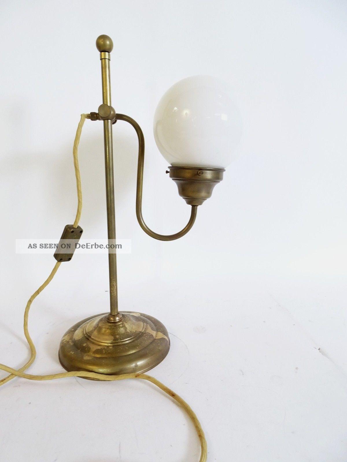Wunderschöne Shabby Chic Kugellampe Nachttischlampe Im ...