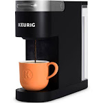 Keurig K-Slim Single-Serve K-Cup Pod Coffee Maker - Black