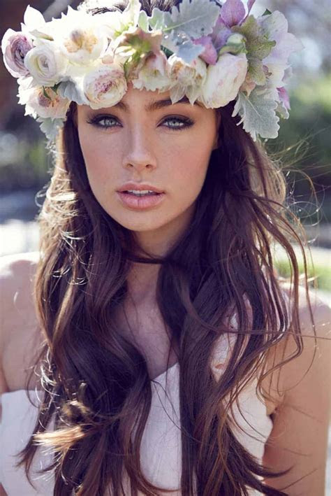 boho wedding makeup best photos   Cute Wedding Ideas