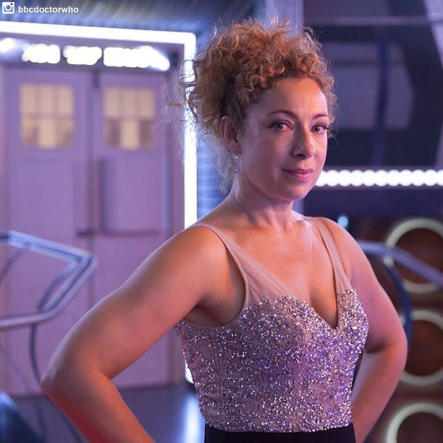 alex kingston bbc doctor who especial de natal BOMBA! Alex Kingston, a River Song, volta no especial de Natal!