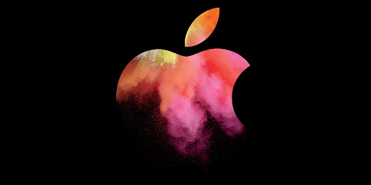 Apple's Oct 2016 Mac Event