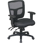 Office Star Pro-Line II Deluxe Adjustable Air Grid Back Ergonomic Office Chair
