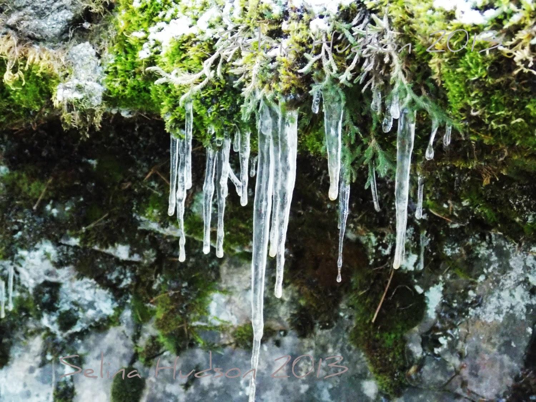 Beautiful,Colorful ice photo - 8 x 10 frame Print Art Photography