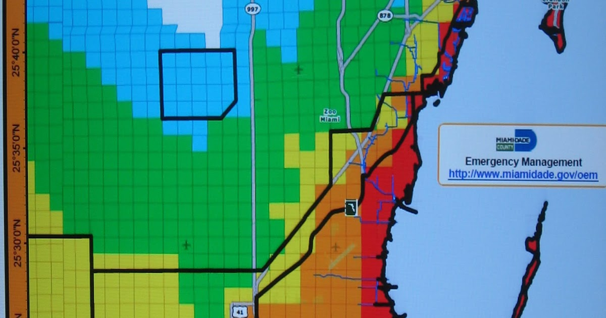 miami dade flood zone map 2020 | time zones map world